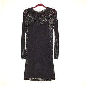 RL Black Label Hand Crochet Dress